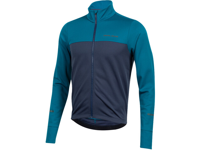 PEARL iZUMi Quest Thermal LS Jersey Men teal/navy